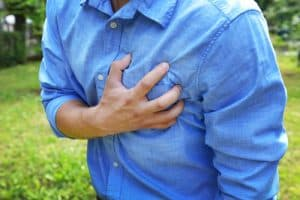 Common side effects of crystal meth abuse include chest pain, irregular heartbeat, and rapid heart rate.